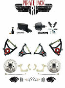 Chevy Tri-five Wilwood Master And Caliper Disc Brake Kit W/ Tubular Control Arms