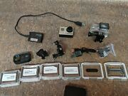 Gopro Hero 3+ W/ Wifi Remote Armte-001 And Other Accessories Dy