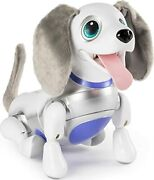 Zoomer Playful Pup, Responsive Robotic Dog With Voice Recognition And Realistic Mo