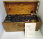 Vintage 1961 Leeds And Northrup Co Naval Ordance Lab Thermocouples Instrument Neat