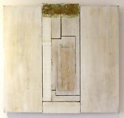 Art Sculpture. Abstract. Klaus Schröder From Germany. Pine, Stained. 16x16x1 In.