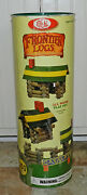 Nice Set Of Vintage Ideal Frontier Logs Lincoln Logs