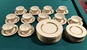 Castleton Golden Classic China Made In The Usa 35 Pieces Great Condition