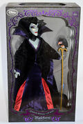 Disney Store Limited Edition Doll Maleficent 17 Le 4000 Sleeping Beauty Queen