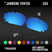 Anti Scratch Polarized Replacement Lenses For- Jawbone Vented Options