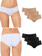 3 Pack Sloggi 24/7 Microfibre Hipster 10180849 Brief Lightweight Knickers