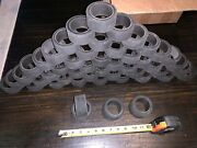 49 Qty Bulk Lot Toy Car Truck Replacement Rubber Tires Wheels 2-7/8andrdquo X 1-3/8