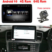 Android 10 Car Gps Radio 8core 4+64gb Rom For Benz Ml Gl Class Ml W166 2012-15
