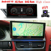 Android 10 Car Gps 8core 4+64gb Rom Nav For Audi A4 A4l A5 High Class 2009-2016