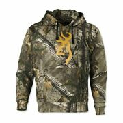 New Browning Wasatch Fleece Pullover Hoodie Realtree Ap Camo