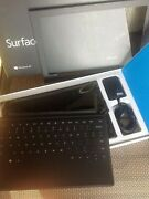 Microsoft Surface Rt 64gb, Wi-fi, 10.6in - Dark Titanium With Touch Cover In Box