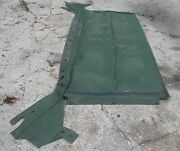 Military Hmmwv 1 1/4 Ton 2 Man Crew Soft Top Roof Cover Green M998 12340736-7
