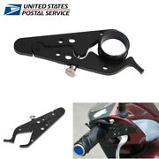 Cnc Motorcycle Cruise Throttle Clamp With Rubber Ring Handlebar Control Assist