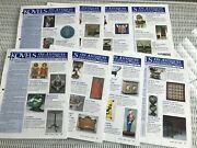 09/2003 -05/2004 Lot Of 8 Kovels On Antiques And Collectibles Newsletter
