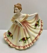 ❤rare Royal Doulton Old Country Roses Pretty Ladies Figurine Charlotte Hn4949 ❤