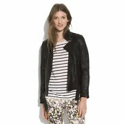 Madewell Wearmaster Belted Leather Jacket