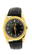 Vintage Manual Wind 18k Yellow Gold Watch