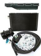 Gearhead Slimline Ac Heat Defrost Air Conditioning A/c Kit W Fittings Compressor