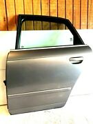 Audi A4 2005 2006 2007 2008 Used Left Driver Side Rear Door Assembly Silver Oem