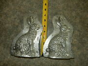 Vintage Antique Candy Chocolate Molds Large Lot