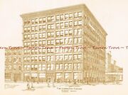 385 1891 Chicago Ludington Building Wabash And Hubbard By Jenney And Mundie
