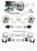 1965-68 Chevy Impalafront And Rear Disc Brake Kit W/ Line Kit And Wilwood Upgrades