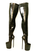 11.8 Inches High Height Sexy Boots Stiletto Heel Over The Knee Boots Us Size5-14