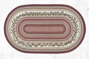 Capitol Earth Rug Country Farmhouse Cranberries Area Rug