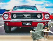 3d Ford Mustang O668 Transport Wallpaper Mural Self-adhesive Removable Amy