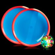 Lumistick Throwing Balls Toy For Party Favor, Led Flashing Ball Toss Game Lot