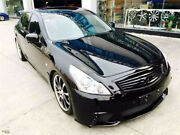 2010-2013 G Series Wd Style Full Bodykit W/ Exhaust Tips For Infiniti G37