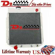 3 Row Aluminum Radiator For 1960-1966 61 62 63 65 64 Ford Mustang /comet /falcon