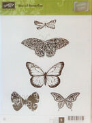 Stampin Up Retired Best Of Butterflies 5 Stamps New Scrapbooking Cardmaking