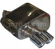 Maserati Gt 3200 Coupe Spider Ansa Right Rear Exhaust Muffler New