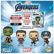 5 Different Avengers Funkos With 16 Collector Cards From Entertainment Earth