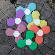 Lumistick Glowing Stress And Anxiety Relief Toy, Led Light Up Spinner Fidget Lot