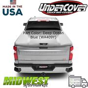 Undercover Elite Lx Deep Ocean Blue Bed Cover Fits 2019 Gmc Sierra 1500 5and0398 Bed