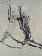 Us Army Molle Ii Enhanced Shoulder Straps For Frame Nsn8465-01-524-7240 Used