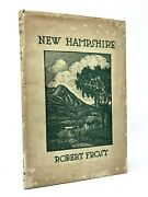 Robert Frost - New Hampshire 1923 True First Edition W/ Dust Jacket