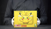 Nintendo 3ds Xl Pokemon Pikachu Yellow Console Pal Boxed - And039the Masked Manand039