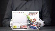 Nintendo 3ds Xl Mario Kart 7 Console Pal Boxed - And039the Masked Manand039