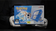 Nintendo 2ds Pokemon Blue Edition Limited Console Pal Boxed - And039the Masked Manand039
