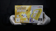 Nintendo 2ds Pokemon Yellow Edition Limited Console Pal Boxed - And039the Masked Manand039