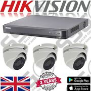 Hikvision Cctv Kit 16 Channel 5mp Hd Outdoor Dome Camera Dvr Security Recorder