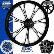 Rc Components Epic Eclipse Custom Motorcycle Wheel Harley Touring Baggers 21