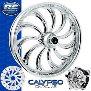Rc Components Calypso Chrome Custom Motorcycle Wheel Harley Touring Baggers 21