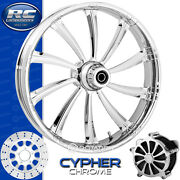 Rc Components Cypher Chrome Custom Motorcycle Wheel Harley Touring Baggers 21
