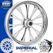 Rc Components Imperial Chrome Custom Motorcycle Wheel Harley Touring Baggers 21