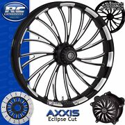 Rc Components Axxis Eclipse Custom Motorcycle Wheel Harley Touring Baggers 21