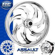 Rc Components Assault Chrome Custom Motorcycle Wheel Harley Touring Baggers 21